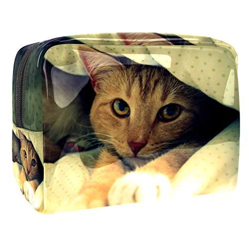 Make-up Taschen Katzendecken Wasserdicht leichte Make up Tasche...