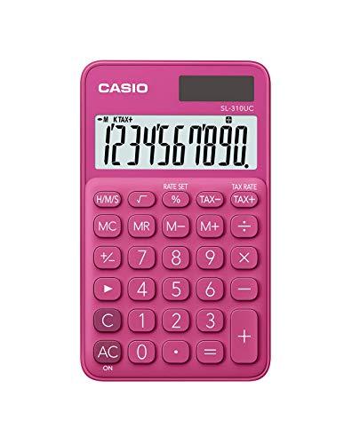 CASIO Taschenrechner SL-310UC, 10-stellig, Trendfarben,...