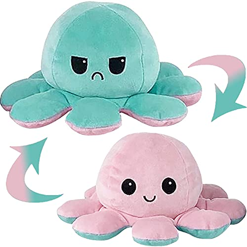 MAFHVV Oktupus Stimmungs Kuscheltier, Octopus Plüschtier,...
