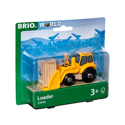 BRIO Bahn 33436 - Frontlader mit Magnetladung