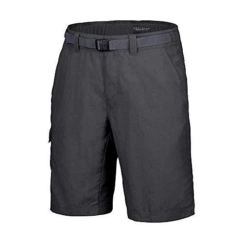Columbia Men's Hiking Shorts, Cascades Explorer, Grey (Grill), W30/L32