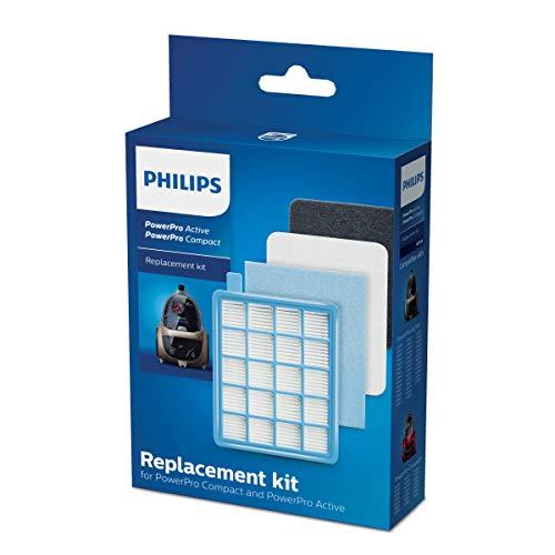 Philips FC8058/01 Komplettes Filterset für beutellose Staubsauger...