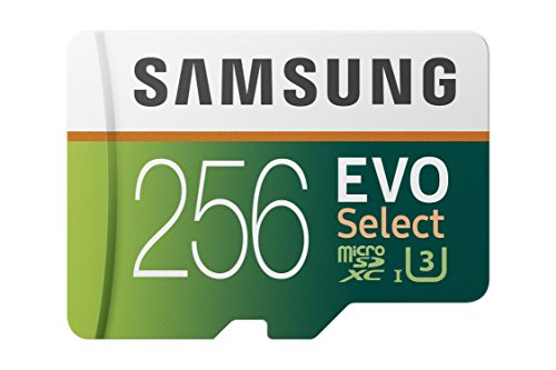 Samsung EVO Select 256 GB microSD 100MB/s, Geschwindigkeit, Full HD &...