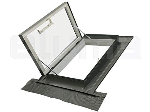Ausstiegsfenster - modell CLASSIC LIBRO/Dachfenster +...