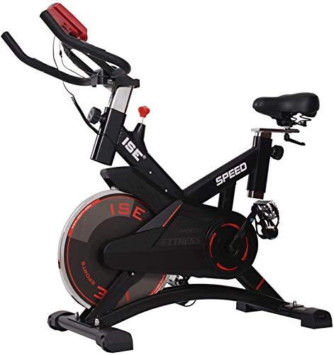 ISE Indoor Cycle Ergometer Heimtrainer 10kg Schwungrad Puls,LCD...