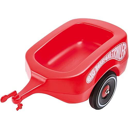 BIG-Bobby-Car Trailer Rot - Bobby-Car Anhänger für drinnen und...