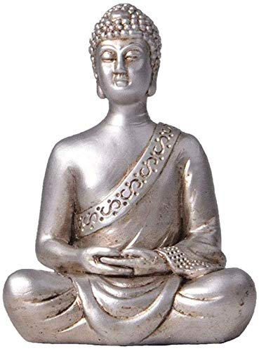 WQQLQX Statue Buddha Statue Sitzen Buddha Statue Feng Shui Dekoration...
