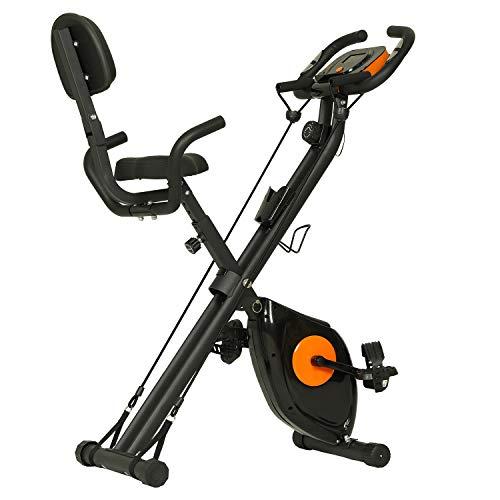 ephex Heimtrainer Fitness Bike, Magnetische Faltbare Fitnessfahrrad...