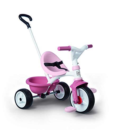 Smoby 740332 - Be Move rosa - Kinderdreirad mit Schubstange, Sitz mit...