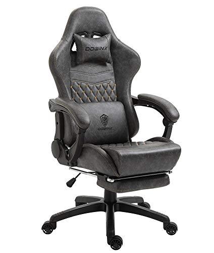 Dowinx Gaming Stuhl Bürostuhl Ergonomischer PC-Stuhl mit Massage...