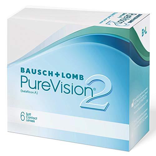 Bausch und Lomb PureVision 2 Monatslinsen, sehr dünne sphärische...