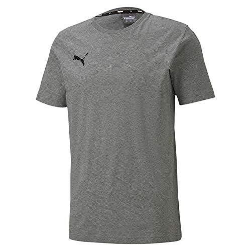 PUMA Herren, teamGOAL 23 Casuals Tee T-shirt, Medium Gray Heather, S