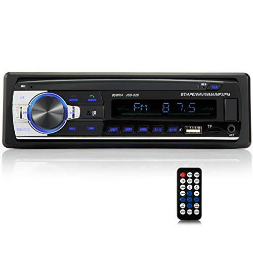 iFreGo Autoradio mit Bluetooth Freisprech Autoradio MP3 LCD USB...