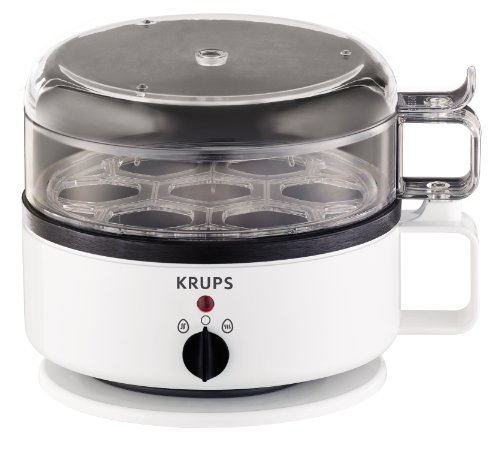Krups F23070 Eierkocher mit Wasserstandsanzeige   Für bis zu 7 Eier  ...