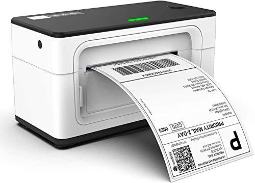 MUNBYN Etikettendrucker 4XL Versandetikettendrucker DHL...