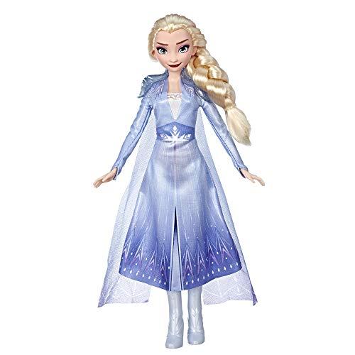 Hasbro Disney Die Eiskönigin II ELSA Puppe mit langem blondem Haar...
