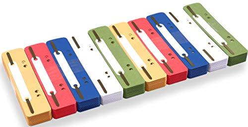 perfect line 250 Recycling Heft-Streifen bunt, Natur-Karton...