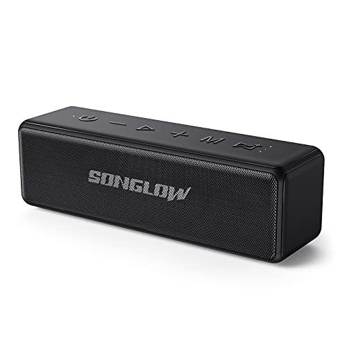 SONGLOW Bluetooth Lautsprecher Wasserdicht Tragbare: 30W Individueller...