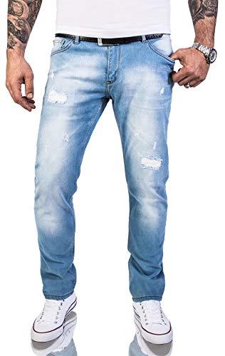 Rock Creek Herren Jeans Hose Regular Slim Stretch Jeans Herrenjeans...