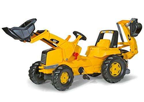 Rolly Toys Traktor / rollyJunior CAT (mit Lader und Heckbagger, für...