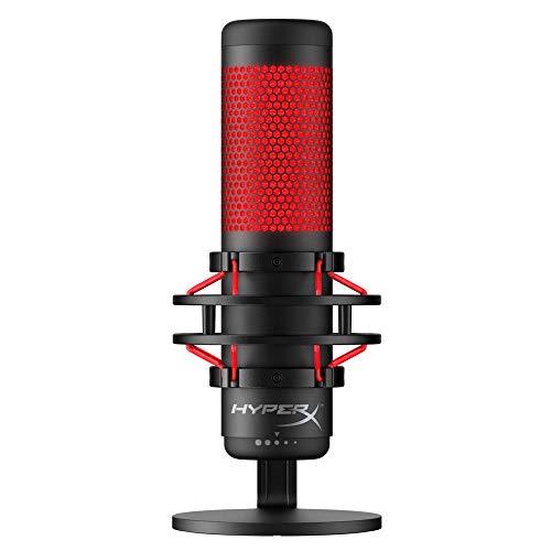 HyperX HX-MICQC-BK QuadCast - Standalone Mikrofon mit umfangreichen...