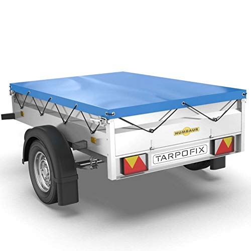 Tarpofix® Anhängerplane Flachplane 211 x 116 x 8 cm -...