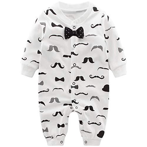 Baby Jungen Strampler Spielanzug Schlafanzug Säugling Baumwolle...