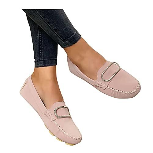 Dasongff Damen Sneaker Mode Bequeme Atmungsaktive Low Top Slippers...