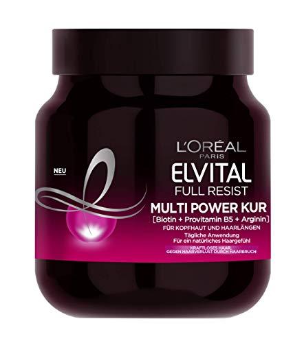 L'Oréal Paris Elvital Haarkur gegen Haarausfall durch Haarbruch, Ohne...