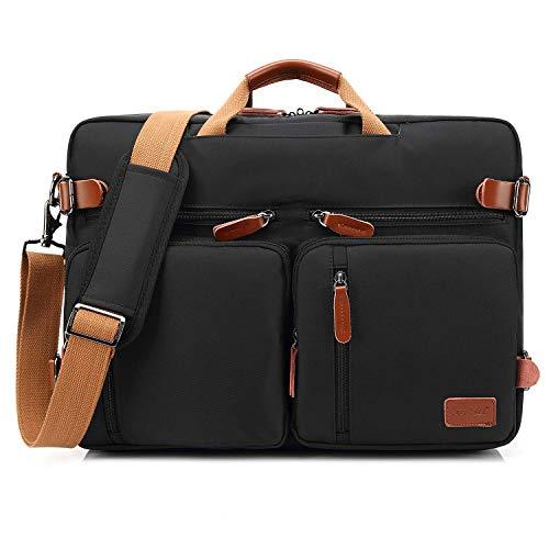 CoolBELL umwandelbar Rucksack Messenger Bag Umhängetasche Laptop...