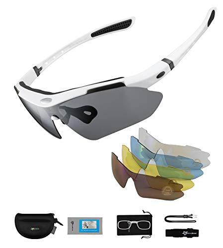 ROCKBROS Polarisierte Brillen Fahrradbrillen Sportbrillen für...