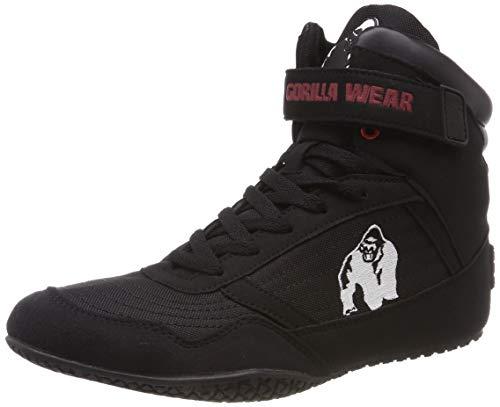 Gorilla Wear High Tops Black schwarz - Bodybuilding und Fitness Schuhe...