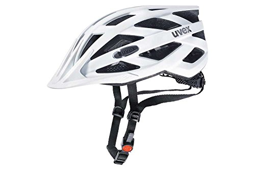 Uvex Unisex– Erwachsene i-vo cc Fahrradhelm, White Mat, 52-57 cm