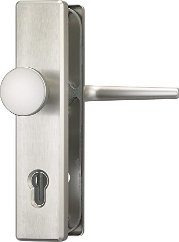 ABUS Tür-Schutzbeschlag HLS214 F9, edelstahl, 31698 (die Verpackung...