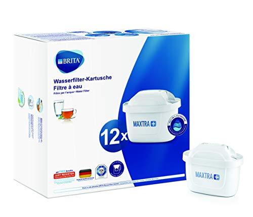 BRITA Wasserfilter-Kartusche MAXTRA+ 12er Pack – Kartuschen für...