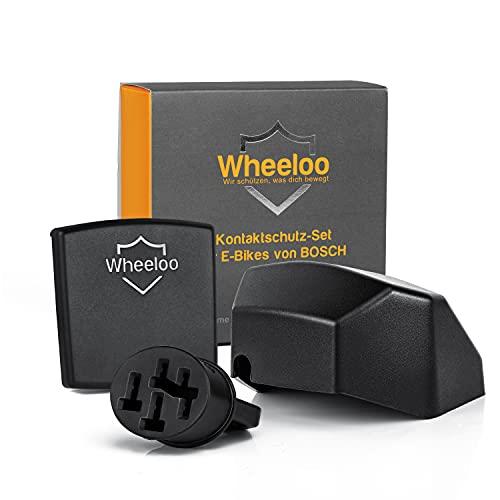Wheeloo Kontaktschutz 3er Set für Bosch Intuvia + Nyon (bis 2020) |...