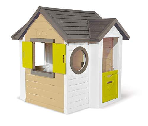 Smoby - Mein Neues Haus - Spielhaus für Kinder für drinnen und...