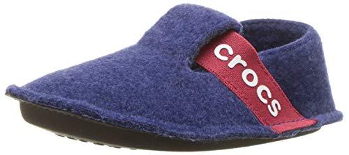 crocs Unisex-Kinder Classic Slipper Kids Hausschuhe, Blau (Cerulean...