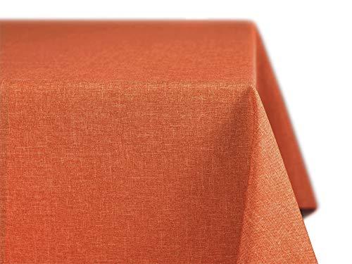 BEAUTEX fleckenabweisende und bügelfreie Tischdecke - Tischtuch mit...
