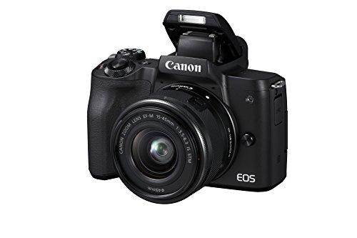 Canon EOS M50 Systemkamera spiegellos - mit Objektiv EF-M 15-45mm IS...