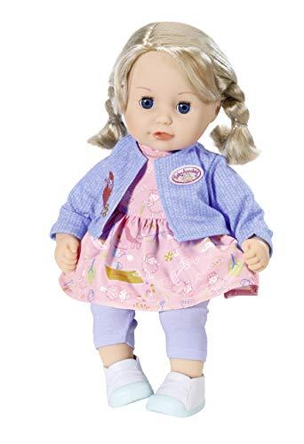 Zapf Creation 706374 Baby Annabell Little Sophia Puppe mit Haaren und...