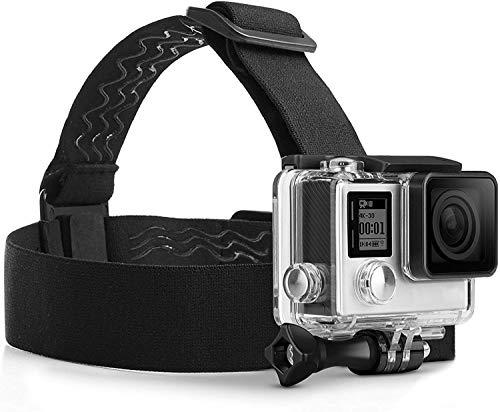MyGadget Action Kamera Zubehör Kopfband Kopfhalterung mit J-Hook...