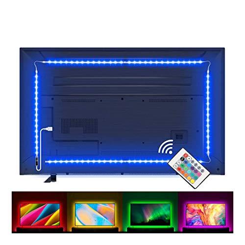 Lampee Led TV Hintergrundbeleuchtung, 2M USB Led Beleuchtung...