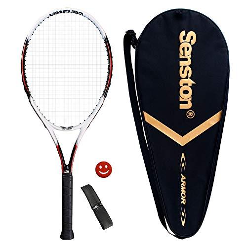 Senston Tennisschläger Damen/Herren Tennis Schläger Set mit...