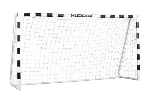 HUDORA Fußball-Tor Stadion mit Netz - Fußballtor Garten groß -...