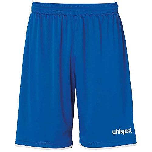uhlsport Herren Club Shorts Fussball Trainingsbekleidung, Blau/Weiß,...