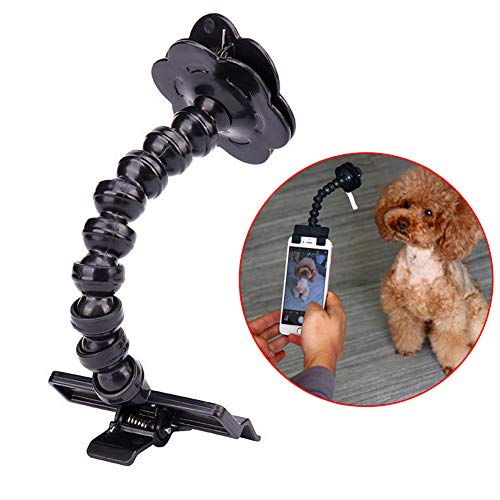 zosenda Selfie-Stick für Haustiere, Flexibler Hund Selfie Stick Stab...