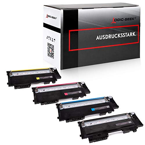 4X Logic-Seek Toner kompatibel für CLT-P404C CLT-K404S CLT-C404S...