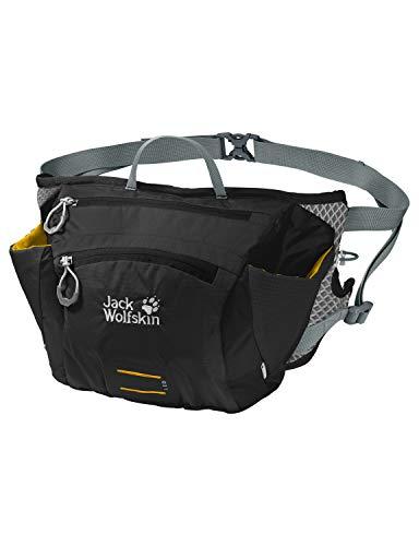 Jack Wolfskin CROSS RUN 2 praktische Hüfttasche, Black, ONE SIZE