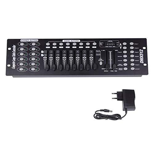 UKing DMX Controller, 192 Kanäle DMX512 Controller Konsole 240 Szenen...